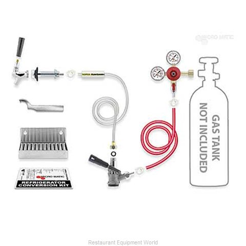 Micro Matic RCK-LC-S Draft Beer Dispenser Kits (Magnified)