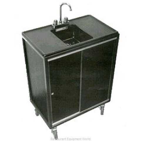 Moli International MPHS-1727 Portable Sink (Magnified)