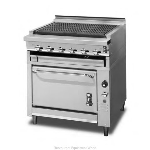 Montague Company 136LB Oven Heavy-Duty Range Type Gas