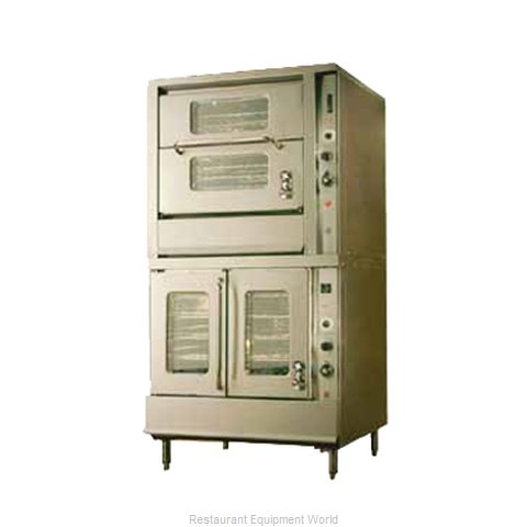 Montague Company 2-115C Convection Oven, Gas (Magnified)