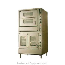Montague Company 2-70C Convection Oven, Gas