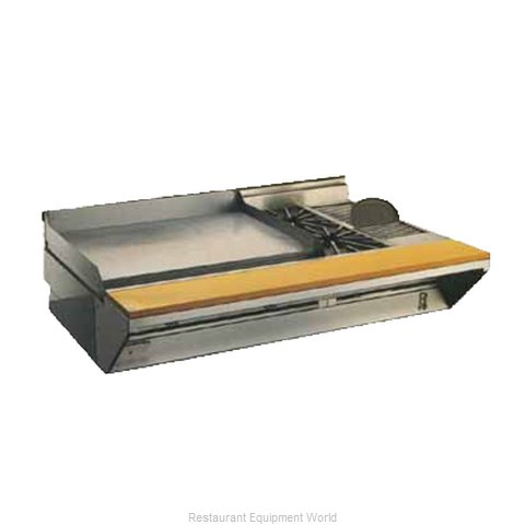 Montague Company 2/C36-8 Griddle Gas Heavy Duty Range Match