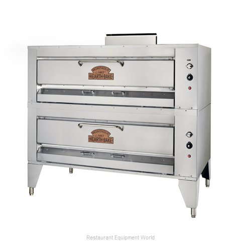 Montague Company 23P-2 Pizza Oven, Deck-Type, Gas