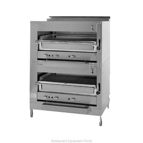 Montague Company 243W36 Broiler, Deck-Type, Gas