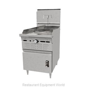 Montague Company 30-24 Range, Wok, Gas