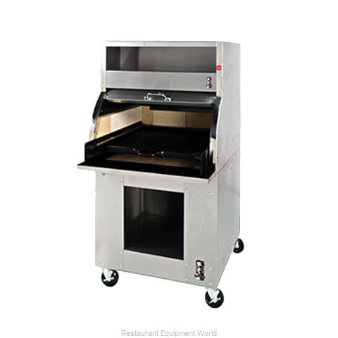 Montague Company 30A/BS Charbroiler Charcoal
