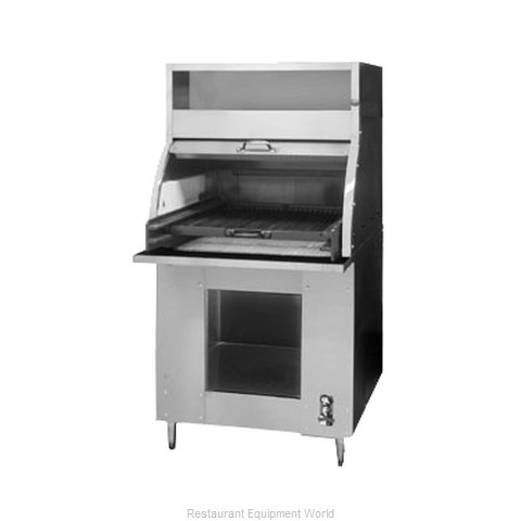 Montague Company 37F Charbroiler, Charcoal