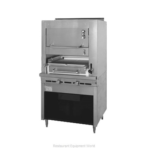 Montague Company 43W36 Broiler, Deck-Type, Gas