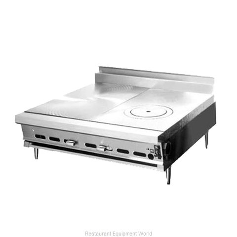 Montague Company C18-S Hotplate, Countertop, Gas
