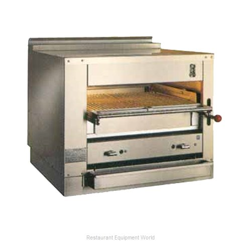 Montague Company C36 Broiler, Deck-Type, Gas