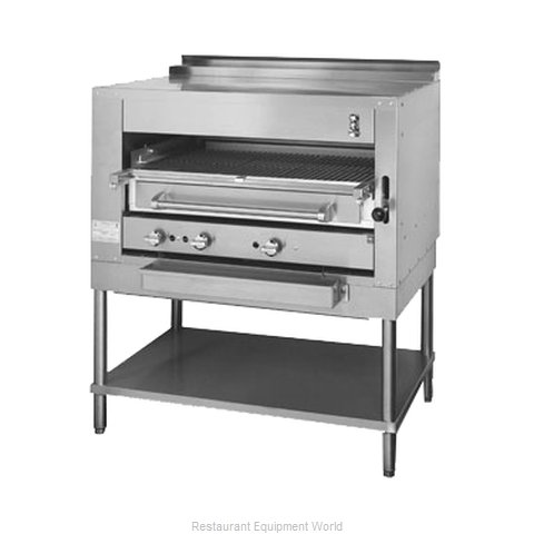 Montague Company C45 Broiler, Deck-Type, Gas