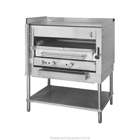 Montague Company C45SHB Broiler, Deck-Type, Gas