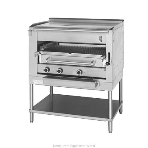 Montague Company C45SHBPL Broiler, Deck-Type, Gas