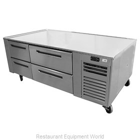 Montague Company FB-84-R Refrig/Freezer, Counter, Griddle Stand