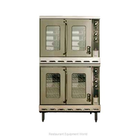 Montague Company HX2-63A Convection Oven, Gas (Magnified)
