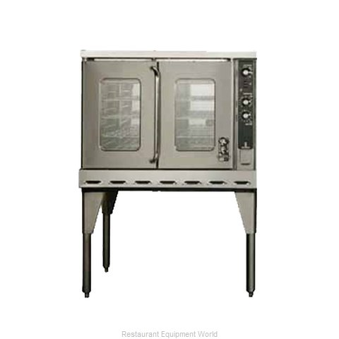 Montague Company HX63AH Convection Oven, Gas (Magnified)