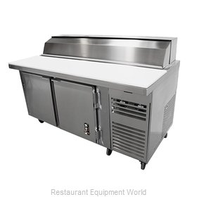 Montague Company PP-72-SC Refrigerated Counter, Pizza Prep Table