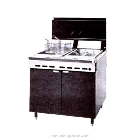 Montague Company RF240 Fryer, Gas, Multiple Battery