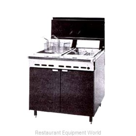 Montague Company RF240 Fryer Multiple Battery Gas