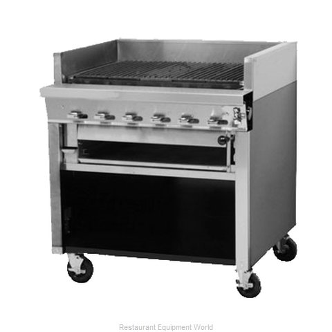 Montague Company UF-36R Char-Broiler