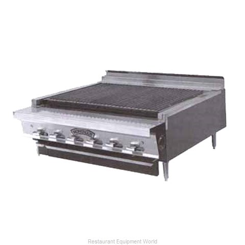 Montague Company UFLC-18R Range Heavy Duty Gas Charbroiler (Magnified)