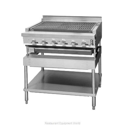 Montague Company UFLC-36R Charbroiler, Gas, Countertop (Magnified)