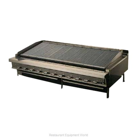Montague Company UFLC-48R Range Heavy Duty Gas Charbroiler (Magnified)