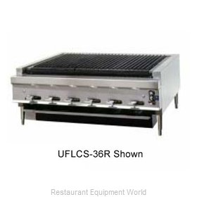 Montague Company UFLCS-72R Charbroiler Gas Counter Model