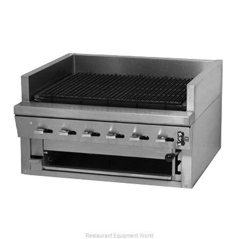 Montague Company UFSC-24C Charbroiler, Gas, Countertop (Magnified)