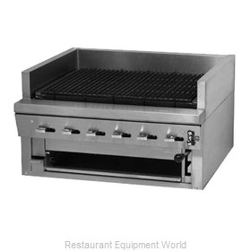 Montague Company UFSC-48R Charbroiler, Gas, Countertop