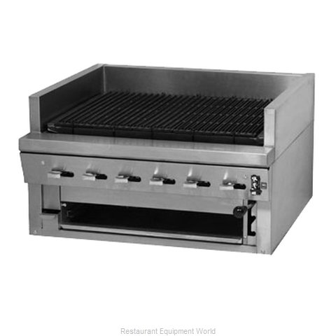 Montague Company UFSC-60R Charbroiler Gas Counter Model