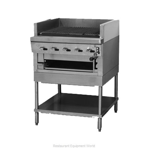 Montague Company UFSM-60R Charbroiler, Gas, Floor Model