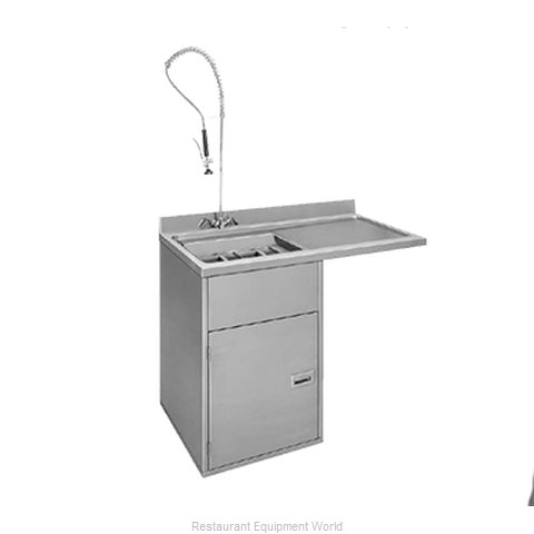 Moyer Diebel CST-L Dishtable Soiled Undercounter Type