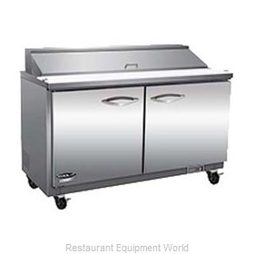 MVP Group ISP61M-2D Refrigerated Counter, Mega Top Sandwich / Salad Unit