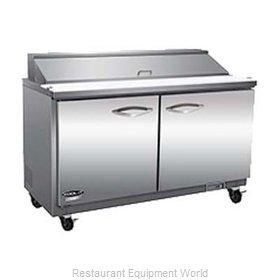 MVP Group ISP61M-4D Refrigerated Counter, Mega Top Sandwich / Salad Unit