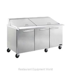 MVP Group ISP72 Refrigerated Counter, Sandwich / Salad Unit