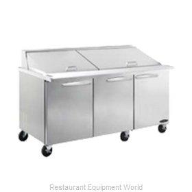 MVP Group ISP72M Refrigerated Counter, Mega Top Sandwich / Salad Unit