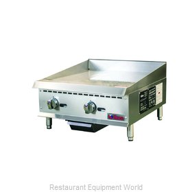 MVP Group ITG-24 Griddle, Gas, Countertop