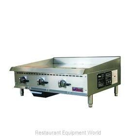 MVP Group ITG-36 Griddle, Gas, Countertop