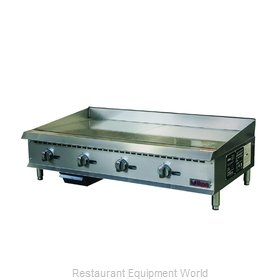 MVP Group ITG-48 Griddle, Gas, Countertop