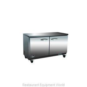 MVP Group IUC48R Refrigerator, Undercounter, Reach-In
