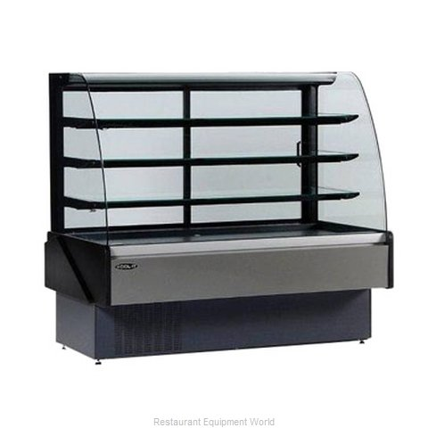 MVP Group KBD-CG-60D Display Case Non-Refrigerated Bakery
