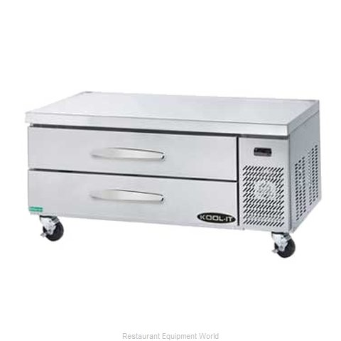 Kool-It KCB-53-2 Refrigerated Counter Griddle Stand