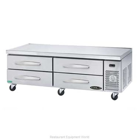 MVP Group KCB-71-4 Refrigerated Counter Griddle Stand