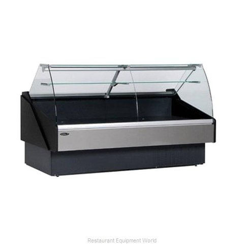 MVP Group KFM-CG-80R Display Case Red Meat Deli