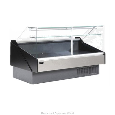 MVP Group KFM-FG-50R Display Case Red Meat Deli