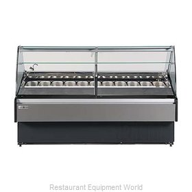 MVP Group KFM-GL-40-S Display Case, Dipping, Gelato
