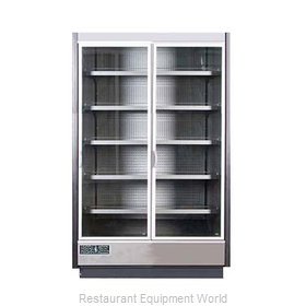 MVP Group KGV-MR-2-R Refrigerator, Merchandiser