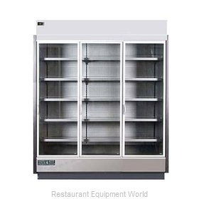 MVP Group KGV-MR-3-S Refrigerator, Merchandiser