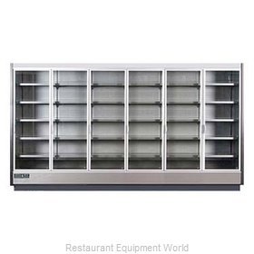 MVP Group KGV-MR-6-R Refrigerator, Merchandiser